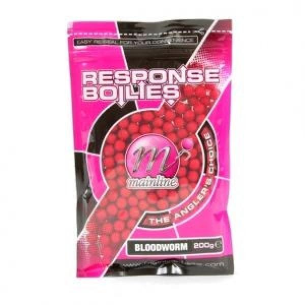 Kulki response boilies bloodworm 8mm 200g