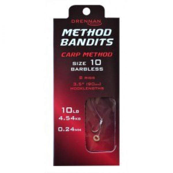 Drennan  BANDIT Carp Method Przypon nr8 / 0.24mm