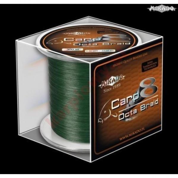 Plecionka carp octa braid 0.26mm green 600m