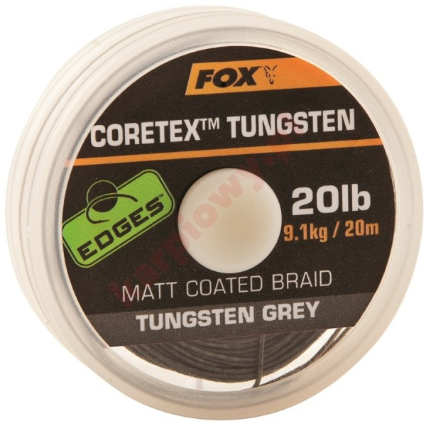 CORETEX TUNGSTEN 20lb 20m COATED BRAID