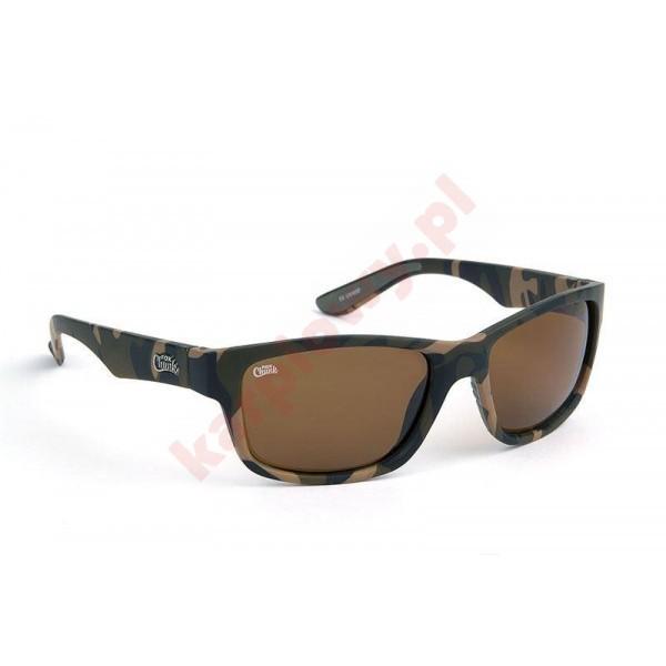 Okulary - chunk sunglass camo brown