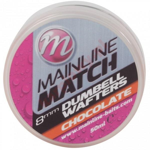 Kulki match dumbell wafters - orange chocolate 8mm