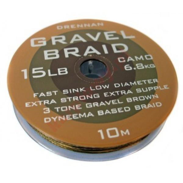 Pleciona przyponowa gravel braid 15lb