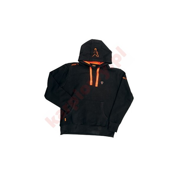 Black Orange Hoodie XXXLARGE