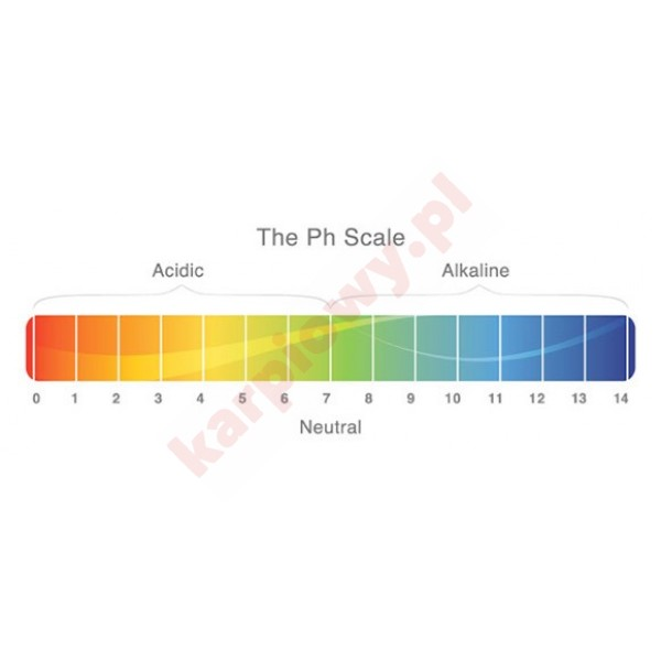 TEST AQUA pH 100szt.
