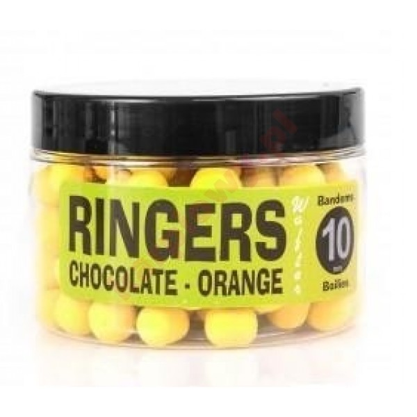 Kulki orange yellow chocolate wafters 10mm