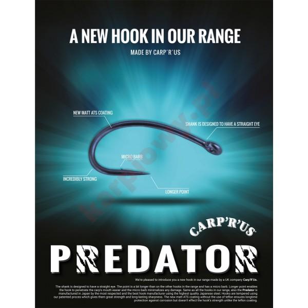 Haczyki predator size 4