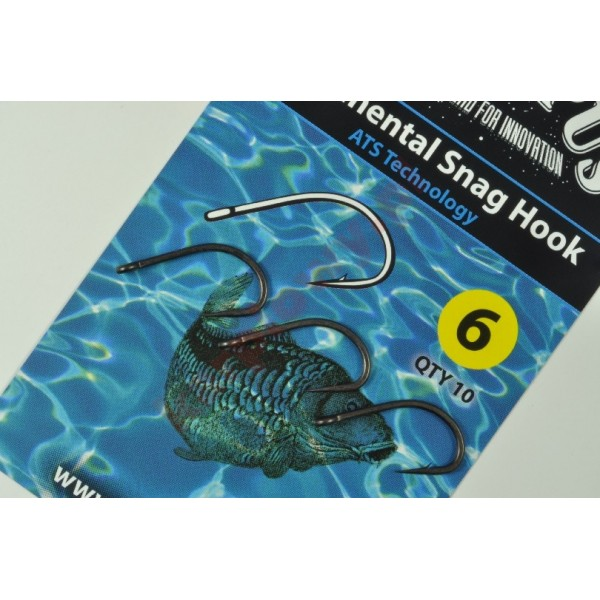 HOOK CONTINENTAL SNAG SIZE 4