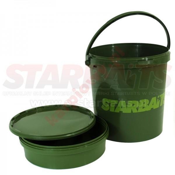 Wiadro Bucket 21l z uchwytem, miską i pokrywą