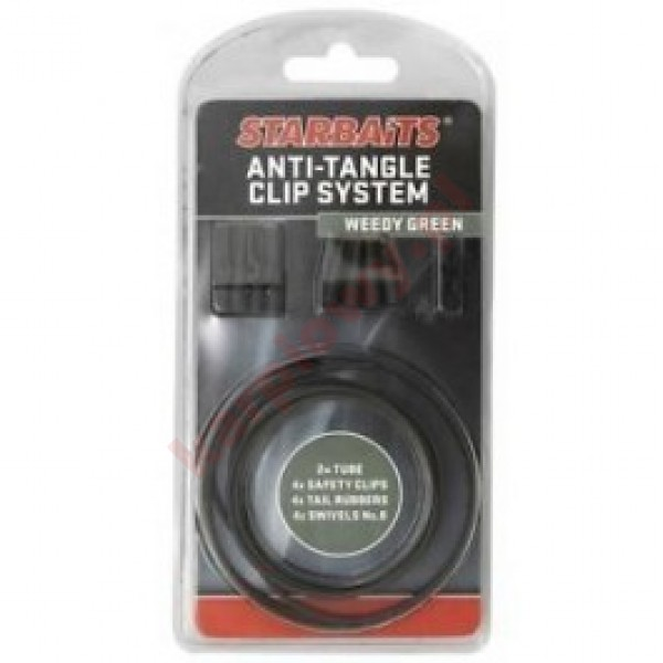 ANTI TANGLE CLIP SYSTEM 4szt ZIELONY