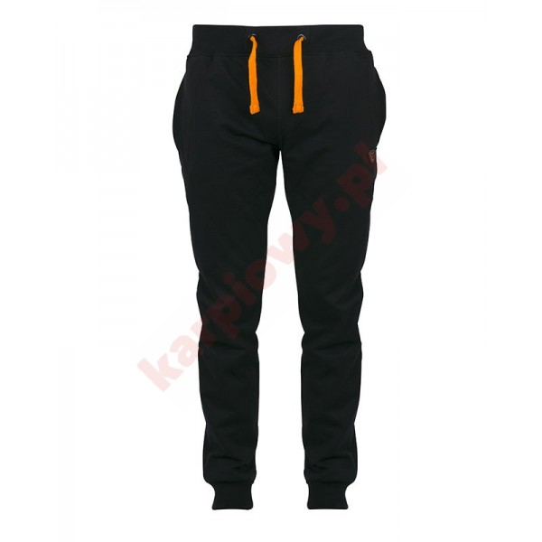 Black & Orange Lightweight Joggers -Small