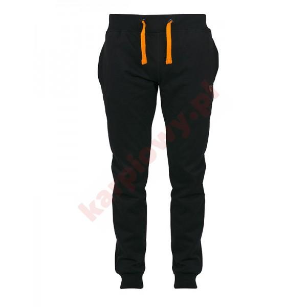 Black & Orange Lightweight Joggers -Small
