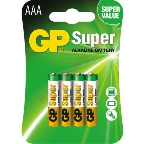 LR03 GP SUPER ALKALINE BAT 24-U6 | CENA ZA SZTUKĘ