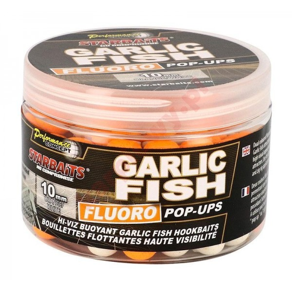 Con Garlic Fish Fluo Pop Up 14mm 80 gr