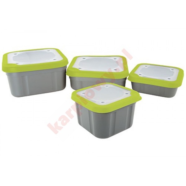 Bait Boxes Solid Top - 1ltr Compact Solid Top