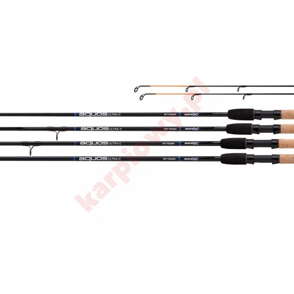 AQUOS ULTRA-C FEEDER RODS 12ft - 3.70m