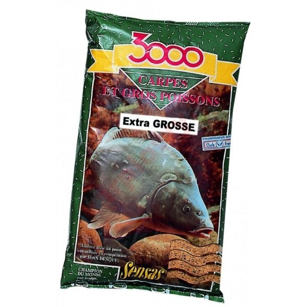 3000 Zanęta Carpes Extra Grosse 1 kg