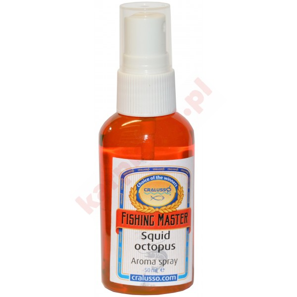AROMA SPRAY MASTER SQUID, OCTOPUS 50ml