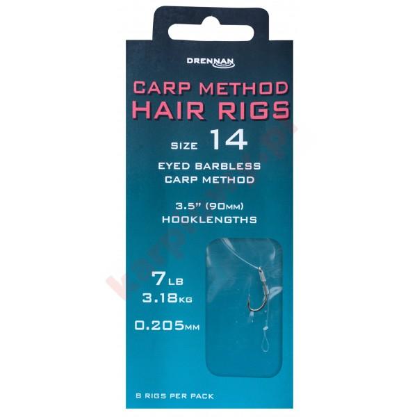 CARP METHOD HAIR RIGS Przypon nr8/0,235mm