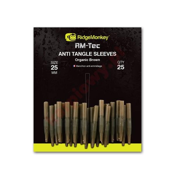 Anti Tangle Sleeves 25mm Organic Brown