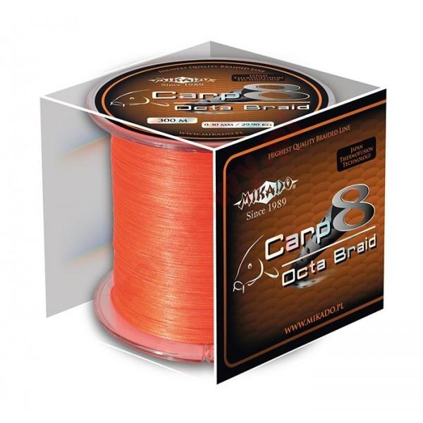 Plecionka carp octa braid 0.26mm orange 1200m