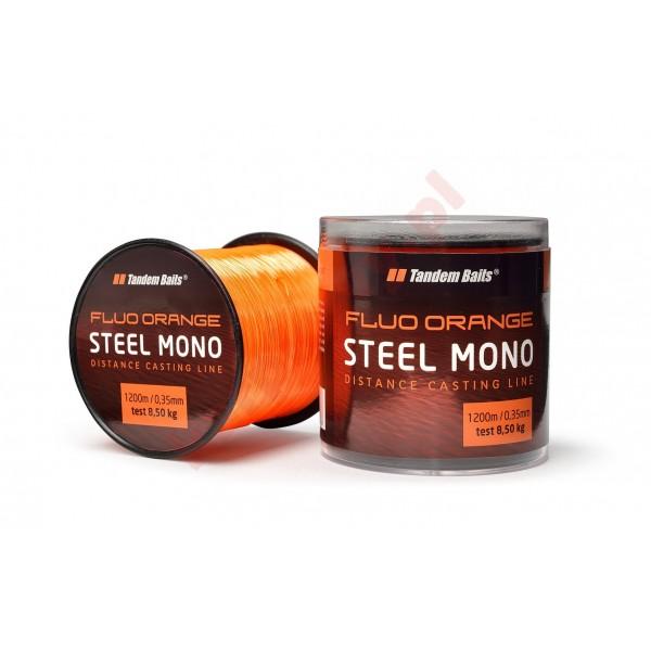Żyłka steel mono fluo 0,35mm fluo pomarańczowa 1200m