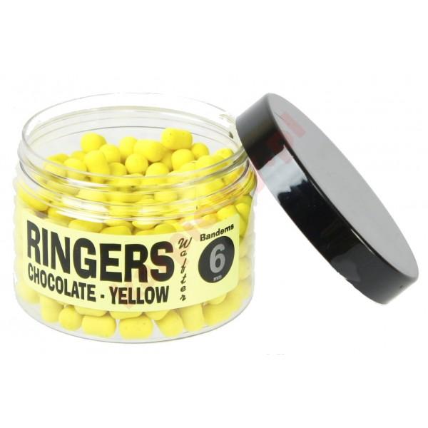 Kulki proteinowe yellow chocolate wafters 6mm
