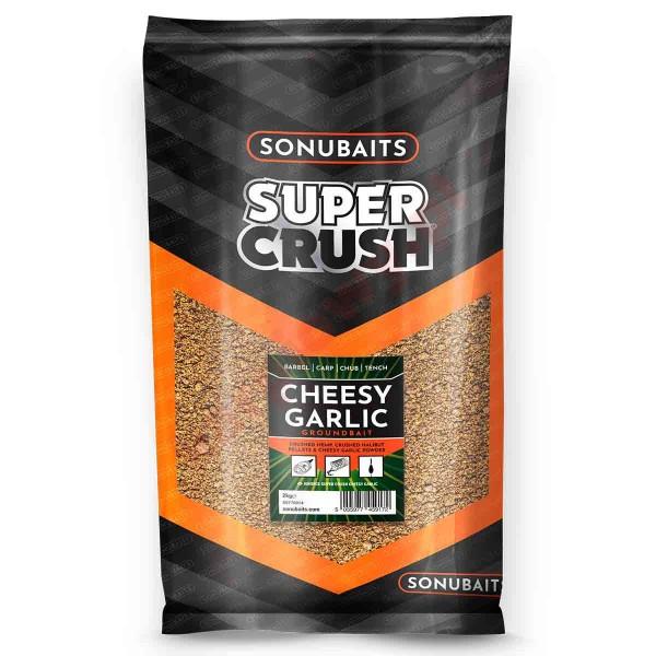 Supercrush - cheesy garlic